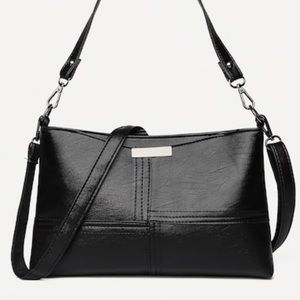 Handbags - COMING SOON Spliced Detail Shoulder Bag